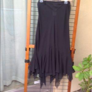 NWT chiffon skirt